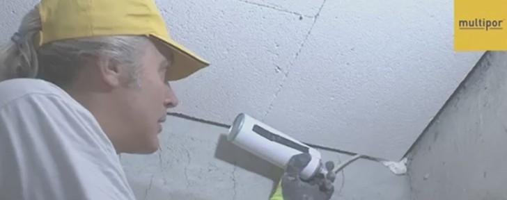 как поставяне мултипор таван