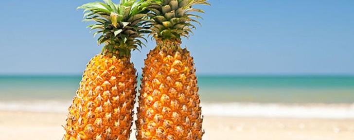 как ананас