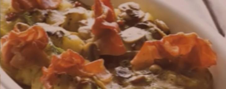 как пълнени картофи гъби