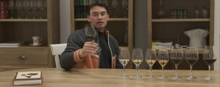 как разчитаме цвят вино