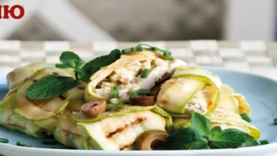 Как да сготвим сармички с тиквички и пилешко месо?