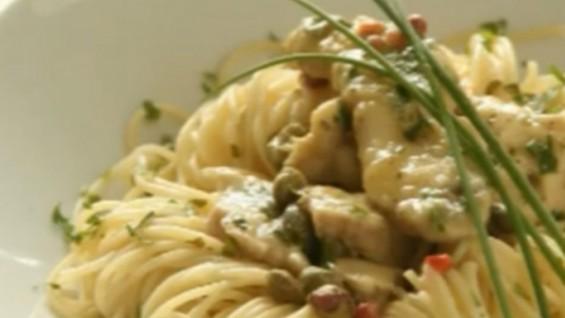 Как да сготвим спагети с пиле?