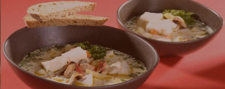как супа риба скариди