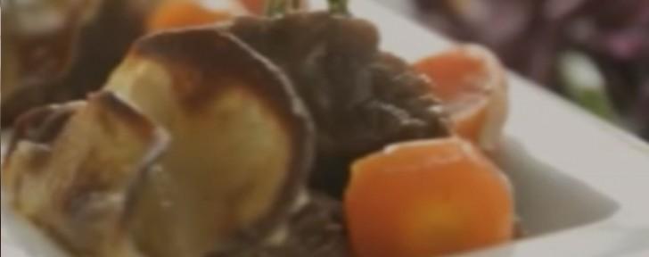как телешко картофи червено зеле