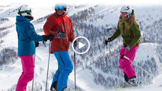Как да изберем яке за ски?